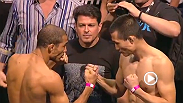 Watch the official UFC 163 weigh-in.