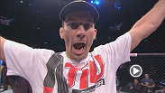 Sergio Moraes, Amanda Nunes and Anthony Perosh react after their stunning first-round finishes on the UFC 163 undercard.