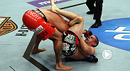 Jamie Varner landed plenty of strikes early, but Joe Lauzon used a triangle choke to end the fight midway through round three. Lauzon's last five victories have come via submission.