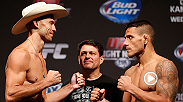 "Rafael dos Anjos looks to extend his four fight win streak tonight when he takes on Donald ""Cowboy"" Cerrone."