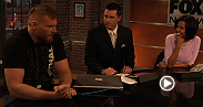 Heavyweights Frank Mir and Josh Barnett interview with various Wisconsin media outlets in preparation for their fight at UFC 164 in Milwaukee.
