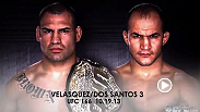 All roads lead to Houston as heavyweight champion Cain Velasquez and former champion Junior Dos Santos prepare to complete their epic title trilogy.