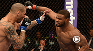 "Tyron Woodley looks to bounce back from his decision loss against Jake Shields with a win over Josh Koscheck at UFC 167. Hear the welterweight discuss the bout and his efforts to ""keep the pimp hand strong."""