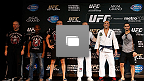 UFC 167 Open Workouts Photo Gallery