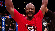 Hear from a victorious Rashad Evans following his fight knockout of friend, and colleague, Chael Sonnen.