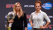 A season of coaching teams on TUF 18, caused the rivalry between Ronda Rousey and Miesha Tate to amplify.  On Saturday, Dec. 28th, the two women will battle not only for the bantamweight title, but for the ultimate bragging rights in a historic feud.