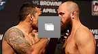FOX UFC® Saturday: Werdum vs Browne Weigh-in Gallery