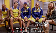 After the shocking turn of events in episode six of The Ultimate Fighter Brazil 3, Paula Sack sits down with the coaches from Team Wanderlei.  New episodes post every Sunday night, exclusively on UFC Fight Pass.
