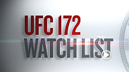 UFC matchmakers Sean Shelby and Joe Silva hate that Joe Ellenberger's debut was scratched but love the opportunity to see the explosion of good young talent coming into the UFC. Hear who both men would include on their UFC 172 watch list.
