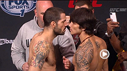 FREE MMA VIDEO: Watch the official weigh-in for UFC Fight Night: Brown vs. Silva.