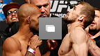 UFC 174 Weigh-in Photo Gallery