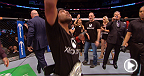 UFC 174: Demetrious Johnson Octagon Interview