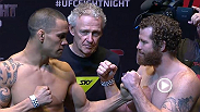 Watch the official weigh-in for UFC Fight Night Auckland: James Te Huna vs. Nate Marquardt.