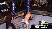 In this MetroPCS Move of the Week, Zak Cummings makes a statement, in his Octagon debut, by submitting Benny Alloway with a first round darce choke.