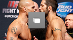 UFC Fight Night Lawler vs Brown Weigh-In