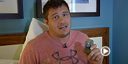 UFC heavyweight Matt Mitrione talks about what he brings with him when he travels on fight week. The former Ultimate Fighter star faces Derrick Lewis at Fight Night Foxwoods.