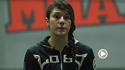 Mexico's Alex Grasso takes on Ashley Cummins on Saturday at Invicta FC 8! Hear the up-and-coming 115-lb. fighter discuss her first experience with MMA and who she looks up to in the sport.