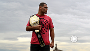 UFC correspondent Megan Olivi catches up with UFC heavyweight Cain Velasquez backstage at the UFC 180 media day. Velasquez talks about his injury, the UFC's reaction, and what he thinks about the interim title fight between Fabricio Werdum and Mark Hunt.