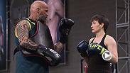 Aisling Daly, who defeated Angela Mangana by TKO, looks to continue her success when she takes on teammate Jessica Penne in a new episode of The Ultimate Fighter. Check out the Dublin natives week of practice leading up to her bout!