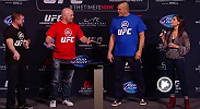 UFC guest fighters and fans battle it out during a session of EA Sports Gameplay at UFC 181.