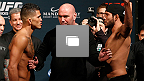 UFC 181 Weigh-In Gallery