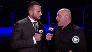 Former WWE superstar CM Punk meets with UFC commentator Joe Rogan to discuss his UFC debut coming in 2015.