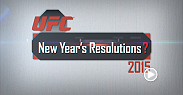 Hear UFC light heavyweight champion Jon Jones, No. 1 contender Daniel Cormier, Marcus Brimage, Danny Castillo, Shawn Jordan, and Myles Jury talk about their New Year's Resolutions for 2015. All six are in action at UFC 182.