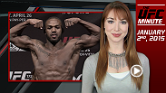 UFC Minute host Lisa Foiles runs down all the need-to-know news for today, Friday, January 2.