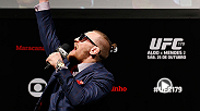 Hear all the big sound bites from Conor McGregor leading up to his fight this Sunday. He is set to face Dennis Siver at UFC Fight Night Boston.