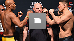 UFC® 183 Weigh-In Gallery