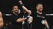 Sam Alvey had one of the memorable finishes from Fight Night Porto Alegre, and he spoke about his performance backstage after the fight.