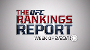 "The Rankings Report is a weekly UFC.com series that gives you, the fans, an in-depth look into the official UFC rankings. This week Matt Parrino and Forrest Griffin talk about Frank Mir, ""Bigfoot"" Silva, Michael Johnson, and looking ahead to UFC 184."