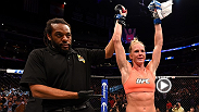 After winning her UFC debut via split decision, Holly Holm chats with Joe Rogan about her emotions and her victory inside the Octagon.
