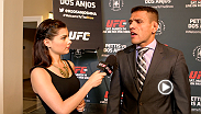 UFC correspondent Megan Olivi catches up with the stars of UFC 185 at Ultimate Media Day.