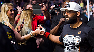 Former welterweight champion Johny Hendricks reflects on his win over Matt Brown during the UFC 185 main card.