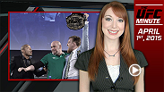 UFC Minute host Lisa Foiles runs down the final day of the UFC 189 World Championship Tour that went down in Dublin, Ireland.