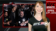 UFC Minute host Lisa Foiles quickly recaps the first night of The Ultimate Fighter: American Top Team vs. Blackzilians, as well as brings you up to speed on UFC 186 fight week.