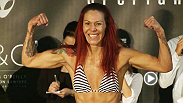 Watch the Invicta FC 15: Cyborg vs. Ibragimova Official Weigh-in from the Punishment Training Center in Huntington Beach, CA.