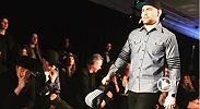 Former UFC middleweight champion Chris Weidman took to the catwalk during Men's NY Fashion Week, showing off his skills in the Grungy Gentleman show.