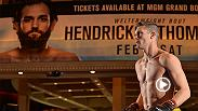 UFC Minute host Lisa Foiles takes you inside Saturday's main event between Johny Hendricks vs Stephen Thompson. Hear from both fighters as they look to be next in line for a title shot.