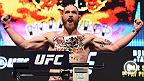 UFC 196: Conor McGregor Reacts to Tom Lawlor Weigh-In