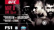 Alistair Overeem and Andrei Arlovski meet in the Octagon on Sunday, May 8 at Fight Night Rotterdam as each looks to continue their ascent up the heavyweight rankings.