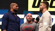 UFC heavyweight Alistair Overeem has been in the game for many years and has had to fight teammates before. When he meets current Jackson/Winklejohn teammates Andrei Arlovski, Overeem said it will be business as usual.