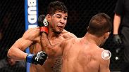 Rani Yahya submitted UFC newcomer Matt Lopez in the final minutes of their bout at Fight Night Sioux Falls on Wednesday. Yahya has now won three consecutive bouts in the UFC.