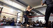 Recap the highlights from Wednesday's open workout session from Fight Night Chicago, including fighters Holly Holm, Valentina Shevchenko, Gilbert Melendez and Edson Barboza.