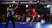 Re-watch the action from Thursday's open workouts from Fight Night Salt Lake City, featuring main event stars Yair Rodriguez and Alex Caceres.