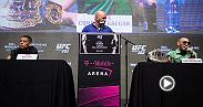 Watch the UFC 202 pre-fight press conference, featuring Nate Diaz, Conor McGregor, Anthony Johnson and Glover Teixeira. The event begins Wednesday, August 17 at 4pm/1pm ETPT live from David Copperfield Theater at MGM Grand in Las Vegas.