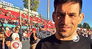 Demian Maia will fight in the main event at Fight Night Vancouver on Saturday. On Tuesday, Maia made his baseball debut, throwing out the first pitch for the Vancouver Canadians.