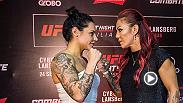 Preview Cris Cyborg vs Lina Lansberg, the main event matchup set to headline Fight Night Brasilia on Sept. 24.
