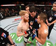 Louis Smolka won his third fight in a row when he submitted Paddy Holohan in Ireland last October. Watch Smolka go for his fifth straight win at Fight Night Portland when he takes on Sergio Pettis.